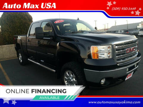 2013 GMC Sierra 3500HD for sale at Auto Max USA in Yakima WA