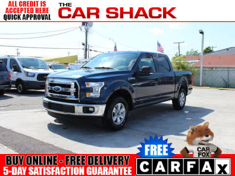 2017 Ford F-150 for sale at The Car Shack in Hialeah FL
