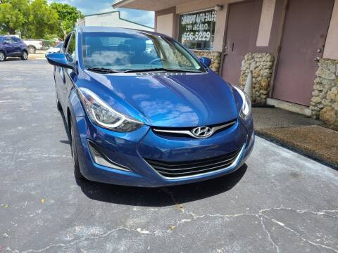 2016 Hyundai Elantra for sale at CAR-RIGHT AUTO SALES INC in Naples FL