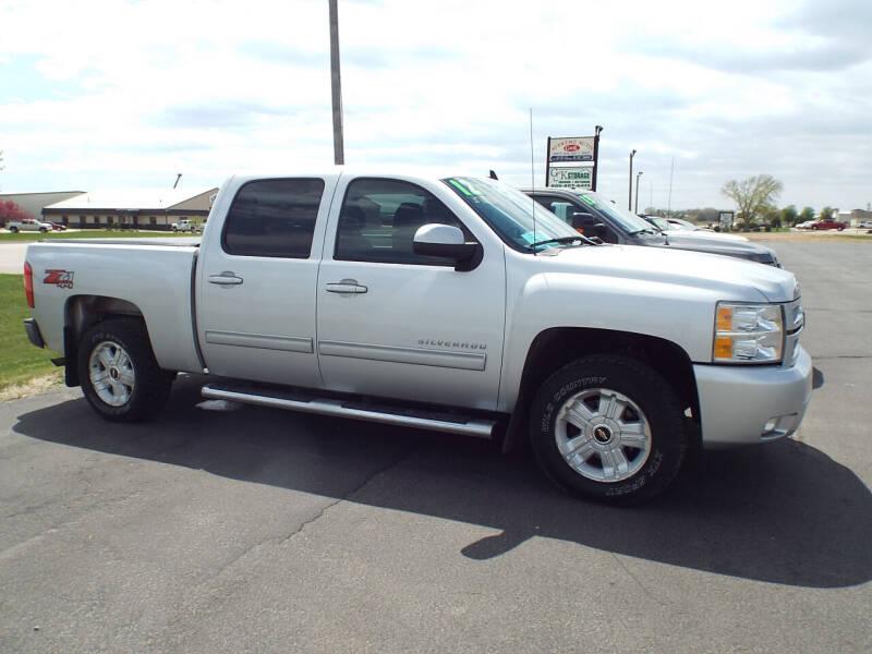 2012 Chevrolet Silverado 1500 for sale at G & K Supreme in Canton SD