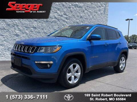 2018 Jeep Compass for sale at SEEGER TOYOTA OF ST ROBERT in St Robert MO