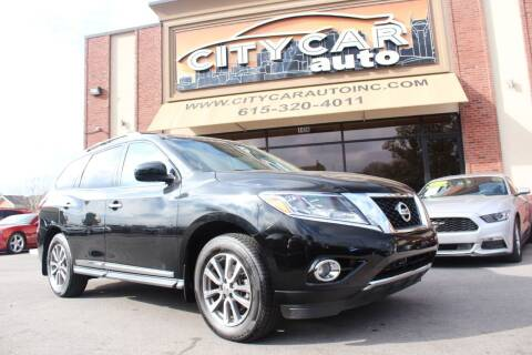 2014 Nissan Pathfinder for sale at CITY CAR AUTO INC in Nashville TN