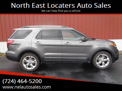 2013 Ford Explorer for sale at North East Locaters Auto Sales in Indiana PA