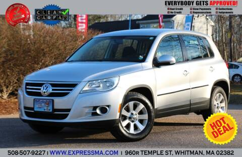 2010 Volkswagen Tiguan for sale at Auto Sales Express in Whitman MA