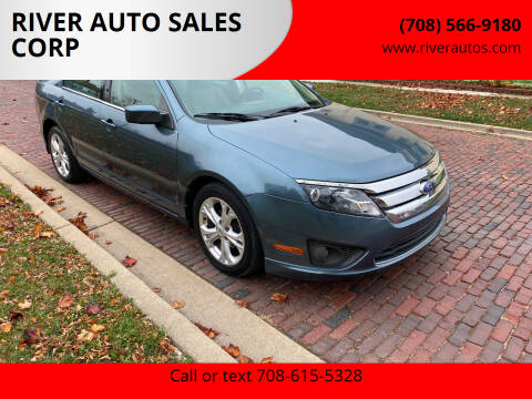 2012 Ford Fusion for sale at RIVER AUTO SALES CORP in Maywood IL