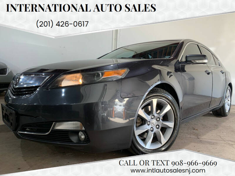 2012 Acura TL for sale at International Auto Sales in Hasbrouck Heights NJ
