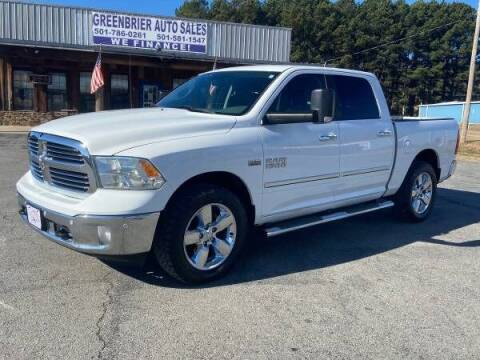 2016 RAM Ram Pickup 1500 for sale at Greenbrier Auto Sales in Greenbrier AR