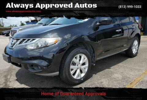 2012 Nissan Murano for sale at Always Approved Autos in Tampa FL