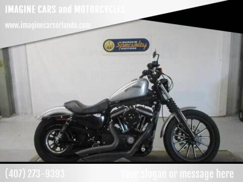2015 Harley Davidson 883 Iron for sale at IMAGINE CARS and MOTORCYCLES in Orlando FL