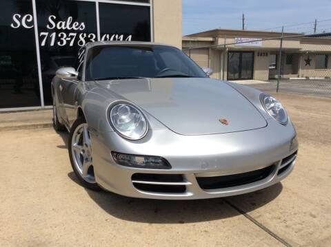 2005 Porsche 911 for sale at SC SALES INC in Houston TX