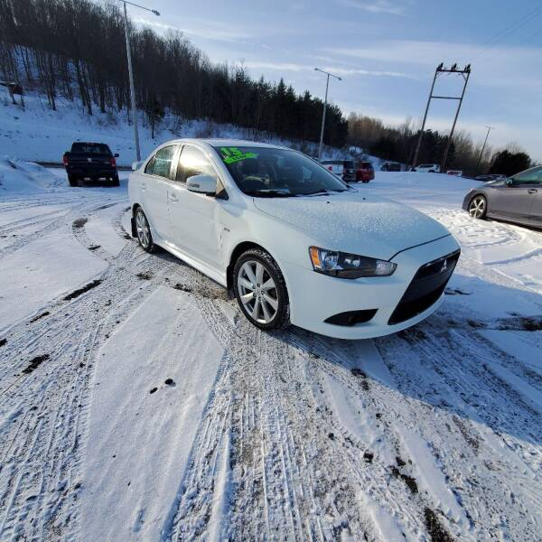 2015 Mitsubishi Lancer for sale at ALL WHEELS DRIVEN in Wellsboro PA