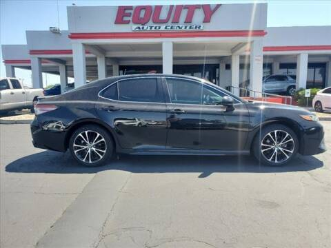 2018 Toyota Camry for sale at EQUITY AUTO CENTER in Phoenix AZ