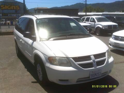 2005 Dodge Grand Caravan for sale at Mendocino Auto Auction in Ukiah CA