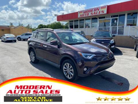 2016 Toyota RAV4 for sale at Modern Auto Sales in Hollywood FL