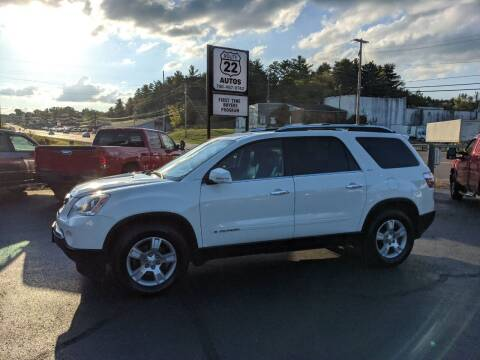 2008 GMC Acadia for sale at Route 22 Autos in Zanesville OH