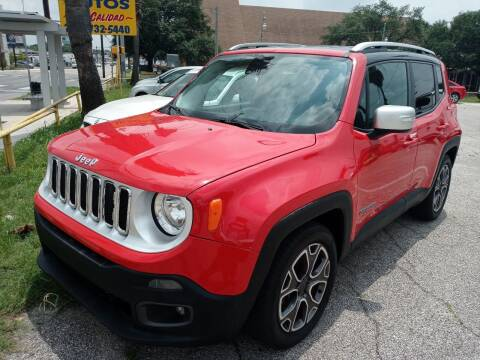 2016 Jeep Renegade for sale at RICKY'S AUTOPLEX in San Antonio TX
