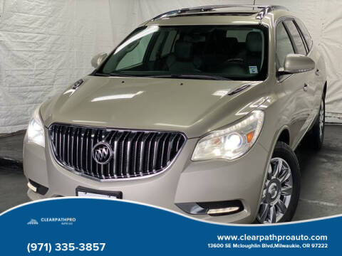 2013 Buick Enclave for sale at CLEARPATHPRO AUTO in Milwaukie OR