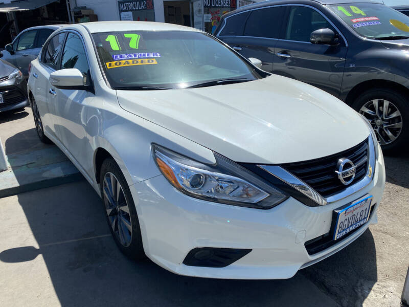 2017 Nissan Altima for sale at CAR GENERATION CENTER, INC. in Los Angeles CA