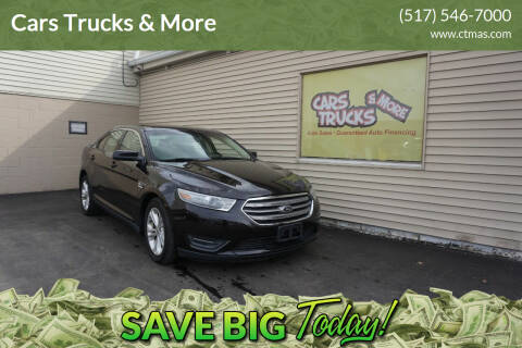 2013 Ford Taurus for sale at Cars Trucks & More in Howell MI