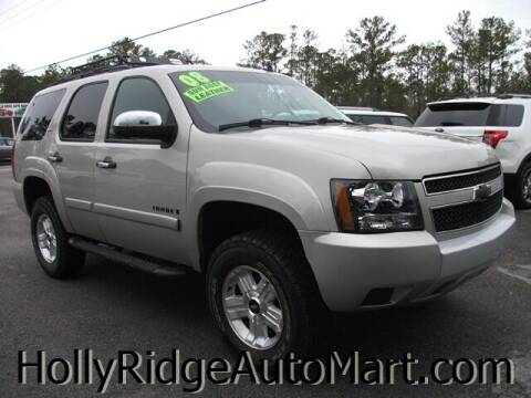 2008 Chevrolet Tahoe for sale at Holly Ridge Auto Mart in Holly Ridge NC