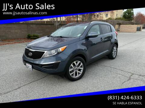 2015 Kia Sportage for sale at JJ's Auto Sales in Salinas CA