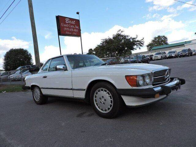 1989 Mercedes-Benz 560-Class for sale at Best Used Cars Inc in Mount Olive NC