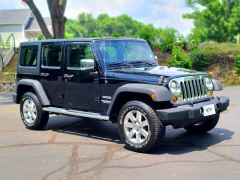 2012 Jeep Wrangler Unlimited for sale at Flying Wheels in Danville NH