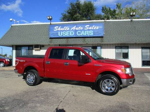 2012 Ford F-150 for sale at SHULTS AUTO SALES INC. in Crystal Lake IL