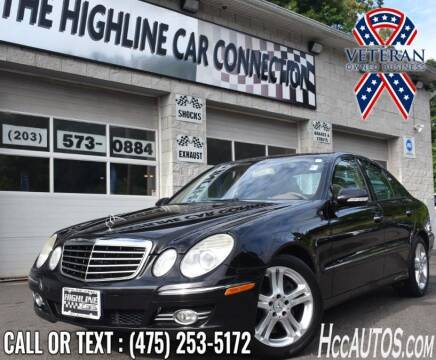 2008 Mercedes-Benz E-Class for sale at The Highline Car Connection in Waterbury CT