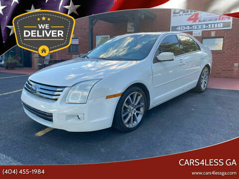 2009 Ford Fusion for sale at Cars4Less GA in Alpharetta GA