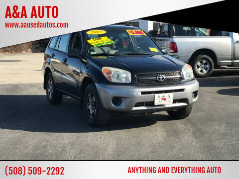 2005 Toyota RAV4 for sale at A&A AUTO in Fairhaven MA