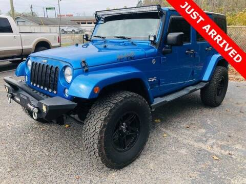 2015 Jeep Wrangler Unlimited for sale at Brandon Reeves Auto World in Monroe NC