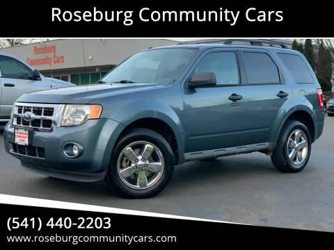 2010 Ford Escape for sale at Roseburg Community Cars in Roseburg OR