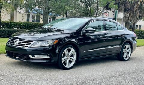 2013 Volkswagen CC for sale at VE Auto Gallery LLC in Lake Park FL