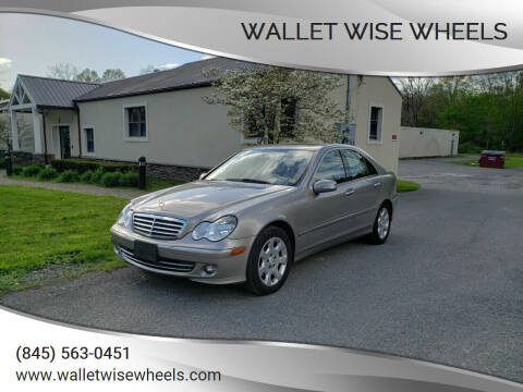 2006 Mercedes-Benz C-Class for sale at Wallet Wise Wheels in Montgomery NY