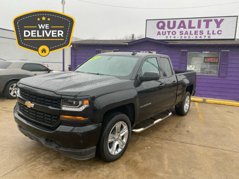 2019 Chevrolet Silverado 1500 LD for sale at Quality Auto Sales LLC in Garland TX