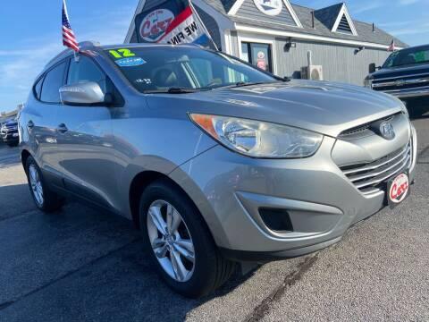 2012 Hyundai Tucson for sale at Cape Cod Carz in Hyannis MA