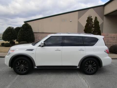 2017 Nissan Armada for sale at JON DELLINGER AUTOMOTIVE in Springdale AR