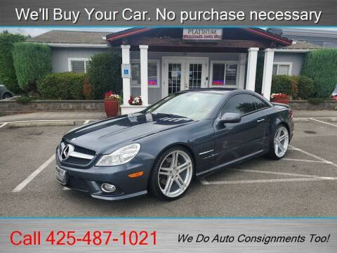 2009 Mercedes-Benz SL-Class for sale at Platinum Autos in Woodinville WA