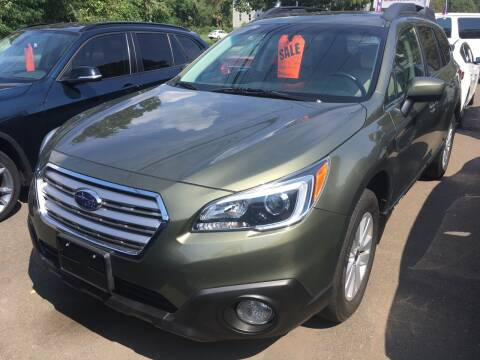2017 Subaru Outback for sale at MELILLO MOTORS INC in North Haven CT