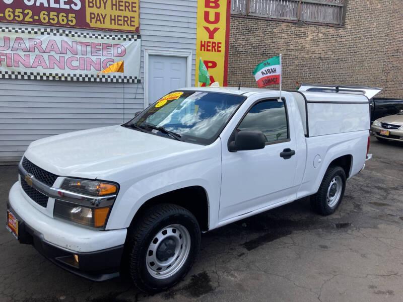 2012 Chevrolet Colorado for sale at RON'S AUTO SALES INC in Cicero IL