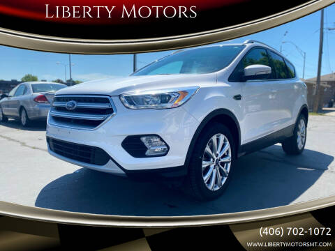 2017 Ford Escape for sale at Liberty Motors in Billings MT