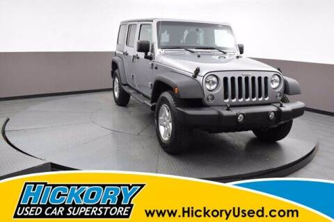 2014 Jeep Wrangler Unlimited for sale at Hickory Used Car Superstore in Hickory NC