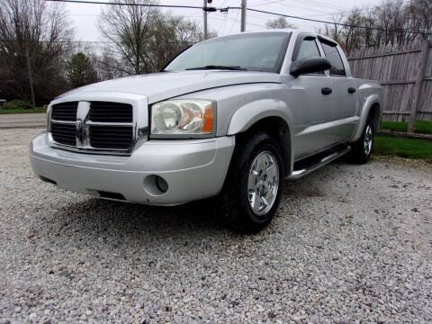 2006 Dodge Dakota for sale at JEFF MILLENNIUM USED CARS in Canton OH