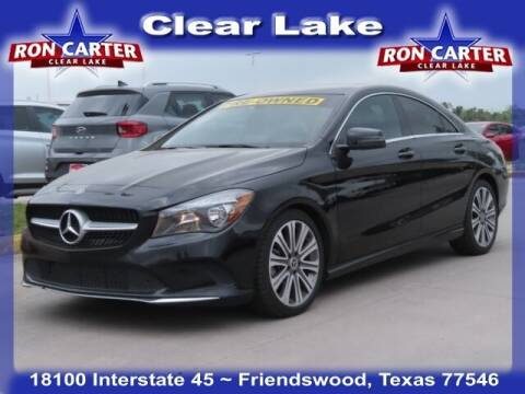 2018 Mercedes-Benz CLA for sale at Ron Carter  Clear Lake Used Cars in Houston TX