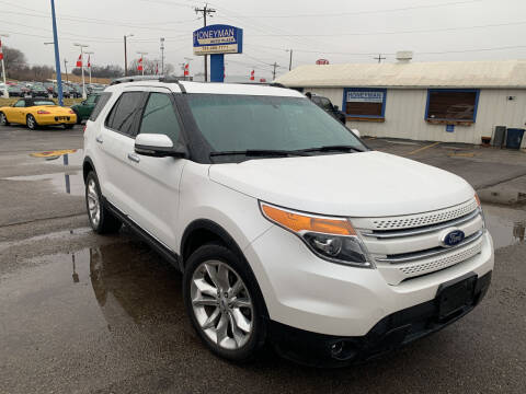 2012 Ford Explorer for sale at Ol Mac Motors in Topeka KS