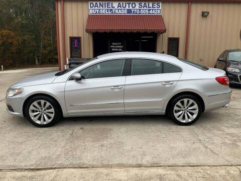 2012 Volkswagen CC for sale at Daniel Used Auto Sales in Dallas GA