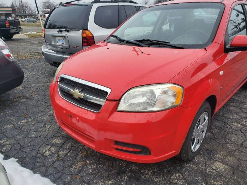 2008 Chevrolet Aveo for sale at Used Car Company in Mt. Clemens...We Finance Everyone MI