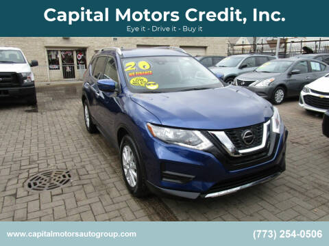 2020 Nissan Rogue for sale at Capital Motors Credit, Inc. in Chicago IL