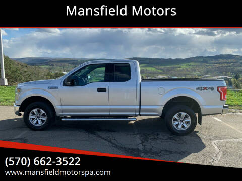 2015 Ford F-150 for sale at Mansfield Motors in Mansfield PA